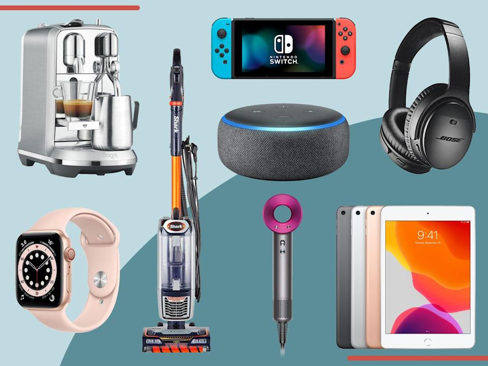 <p>The shopping event includes discounts on everything from coffee machines to TVs, headphones and more</p> (The Independent)