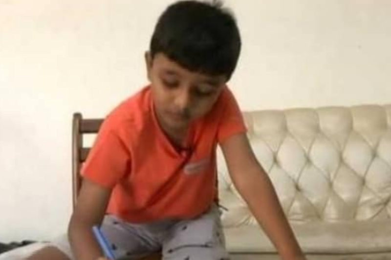 This 8-Year-Old Chennai Boy Can Read and Write Over 106 Languages