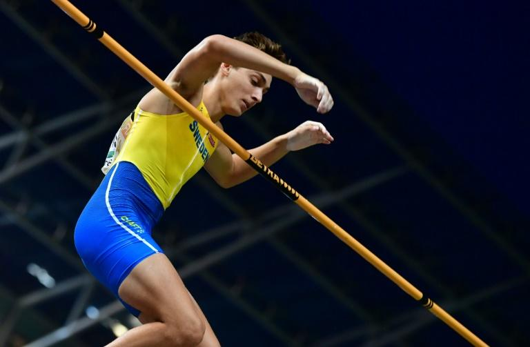 Sweden's Armand Duplantis, pictured August 12, 2018, has signed up on a scholarship with Louisiana State University in the United States, but a potential Diamond League cash windfall could jeopardise that