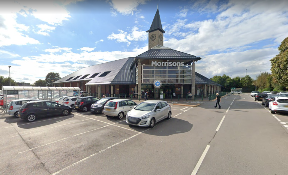 The baby was found dead in the car park of Morrisons in Bilston, West Midlands. (Google Maps)