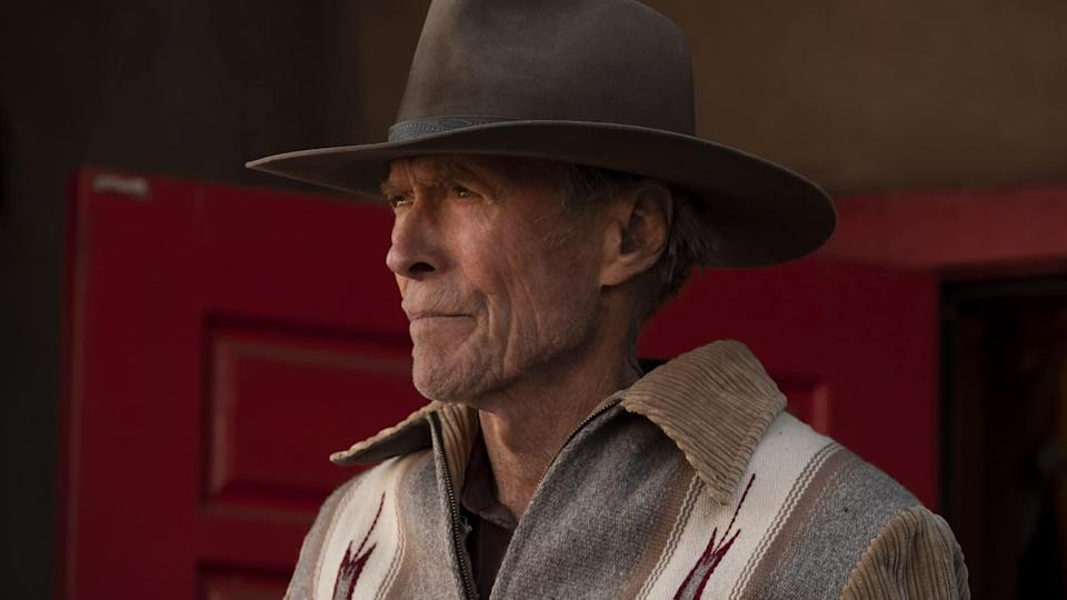 Clint Eastwood in a cowboy hat