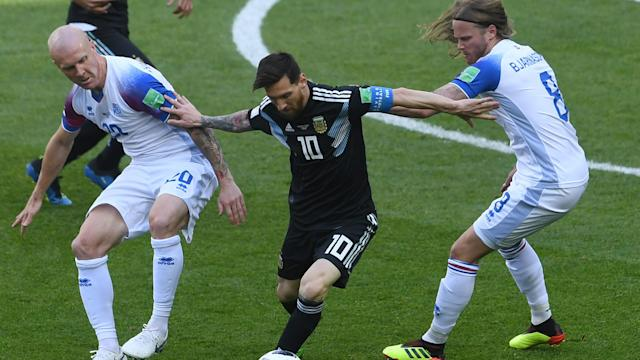 After their vital draw against the Argentines, the Icelandic midfielder insists the point will be a waste if they don't see off Gernot Rohr's men