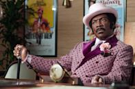 """<p>This brilliant biographical comedy film stars <a class=""""link rapid-noclick-resp"""" href=""""https://www.popsugar.com/Eddie-Murphy"""" rel=""""nofollow noopener"""" target=""""_blank"""" data-ylk=""""slk:Eddie Murphy"""">Eddie Murphy</a> as Rudy Ray Moore, a raunchy comedian who rose to prominence in the late 1960s and is best known for his character of Dolemite, a character he often played in his stand-up routines, as well as the feature character and urban hero in a 1975 American blaxploitation crime film. Wesley Snipes, Craig Robinson, Tituss Burgess, and Keegan-Michael Key are also in the film, so you know it's got to be good. </p> <p><a href=""""http://www.netflix.com/title/80182014"""" class=""""link rapid-noclick-resp"""" rel=""""nofollow noopener"""" target=""""_blank"""" data-ylk=""""slk:Watch Dolemite Is My Name on Netflix"""">Watch <strong>Dolemite Is My Name</strong> on Netflix</a>.<br></p>"""