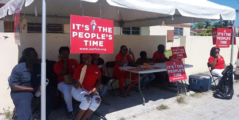 Main opposition party appears to win in the Bahamas