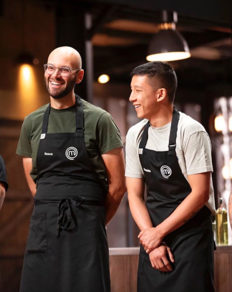 Reece Hignell and Brendan Pang on MasterChef 2020