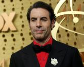 FILE PHOTO: 71st Primetime Emmy Awards - Arrivals – Los Angeles, California, U.S., September 22, 2019 - Sacha Baron Cohen