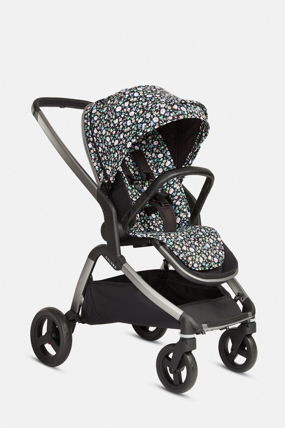 """<p><strong>Colugo</strong></p><p>hicolugo.com</p><p><strong>$445.00</strong></p><p><a href=""""https://hicolugo.com/products/the-complete-stroller?variant=31173572493382"""" rel=""""nofollow noopener"""" target=""""_blank"""" data-ylk=""""slk:Shop Now"""" class=""""link rapid-noclick-resp"""">Shop Now</a></p><p>An easy to use, everyday stroller that comes with some very cute covers...</p>"""