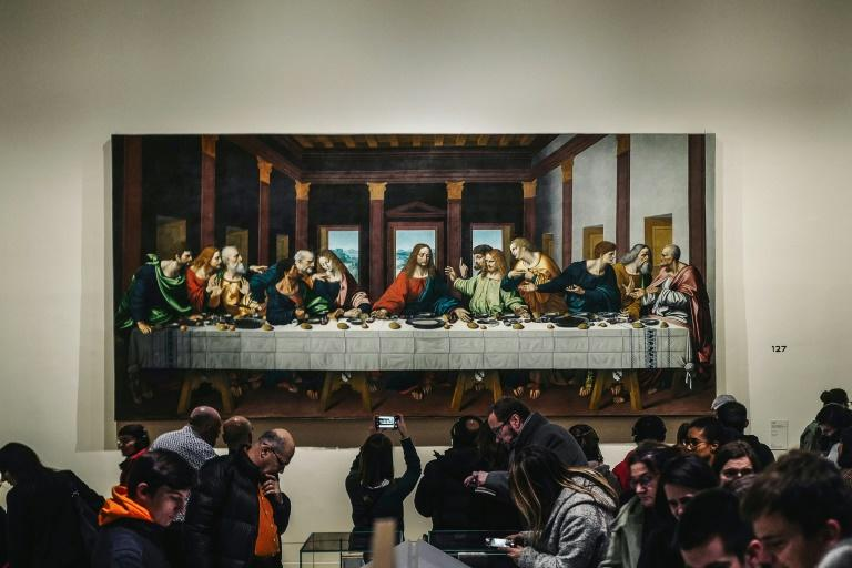 The show marked the 500th anniversary of the artist's death in France
