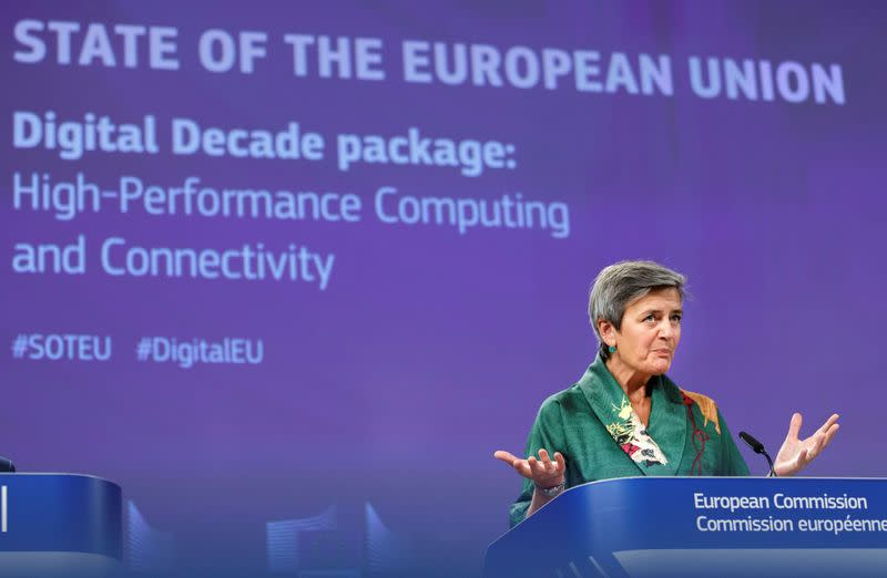 EU looks to fast 5G, supercomputers to boost virus-hit economy