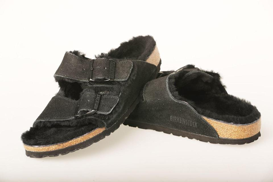 """<p>Birkenstock is one of the few companies that has <a href=""""https://www.forbes.com/sites/kirimasters/2019/09/05/these-four-companies-still-refuse-to-sell-on-amazon-despite-its-market-dominance/?sh=24a8201124fe"""" rel=""""nofollow noopener"""" target=""""_blank"""" data-ylk=""""slk:decided not to sell its product"""" class=""""link rapid-noclick-resp"""">decided not to sell its product</a> through the retail giant, so anything found on the e-commerce site is sold through a third-party retailer, AKA the product's quality can't be guaranteed.</p>"""
