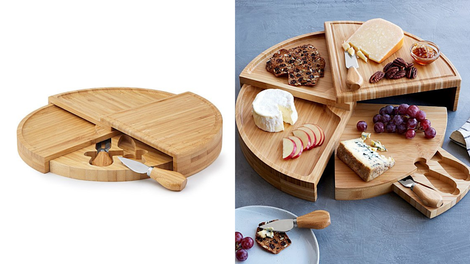 The best gifts for travelers: Swivel Cheese Board