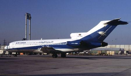 FILE PHOTO: UNDATED FILE PHOTO OF BOEING 727-100 OF ARIANA AFGHAN AIRLINES.