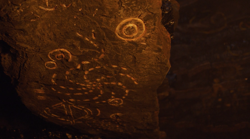 The White Walker cave symbols call back to the other signs on the show. (HBO)