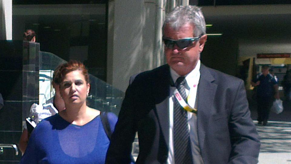 A charge of extortion against a discredited WA whistleblower (L) have been dropped by prosecutors.