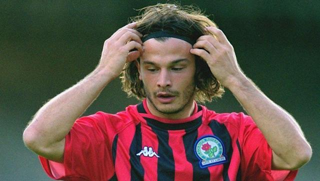 <p>From one Italian flop to another, Corrado Grabbi became Blackburn's record signing in 2001 when he joined the club from Italian second tier side Ternana for close to £7m.</p> <br><p>Blackburn had only just returned to the Premier League after relegation in 1999 and were looking for a goalscorer to help them kick on, but Grabbi wasn't it. He scored just two league goals in 30 appearances and was still contracted to the club until 2004, before returning home.</p>