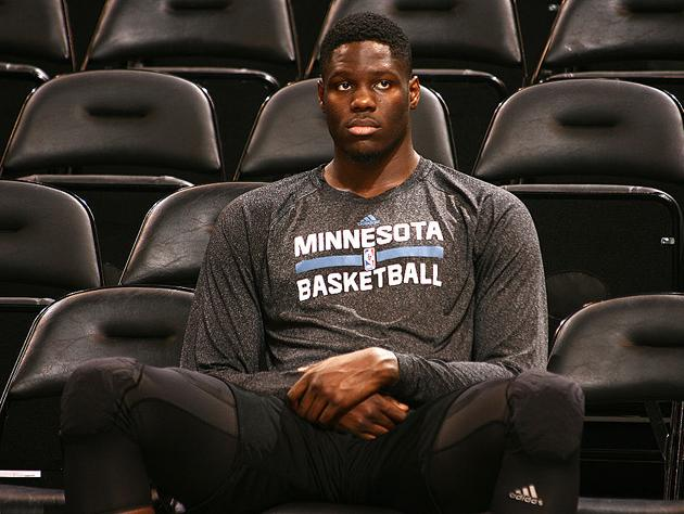 Anthony Bennett in the gear. (Getty Images)
