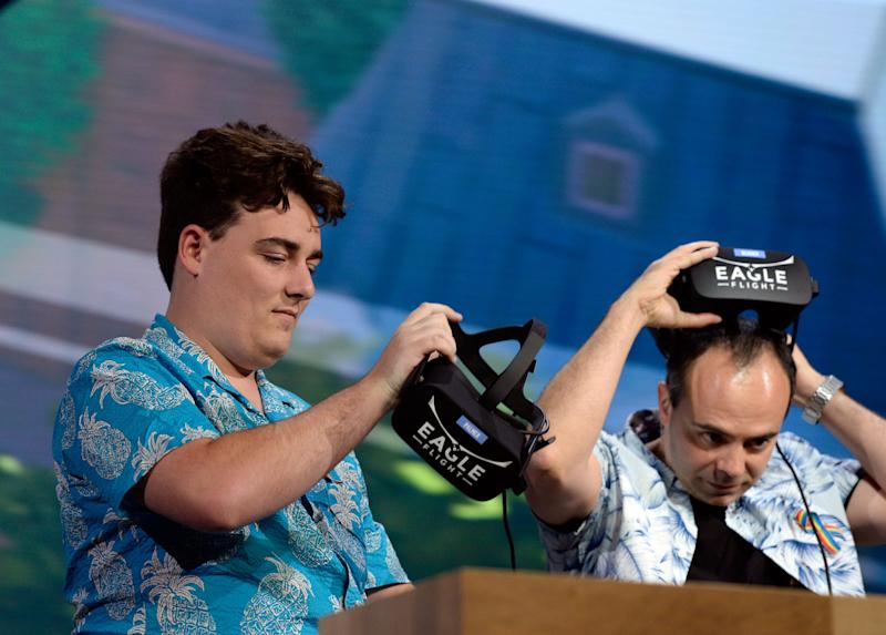 Documents Suggest 'Meme Magic' VR-Whiz Palmer Luckey Donated $100,000 to Donald Trump's Inauguration