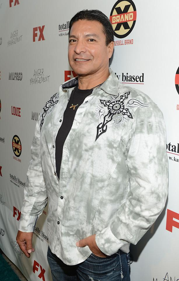 Gil Birmingham attends the FX Summer Comedies Party at Lure on June 26, 2012 in Hollywood, California.