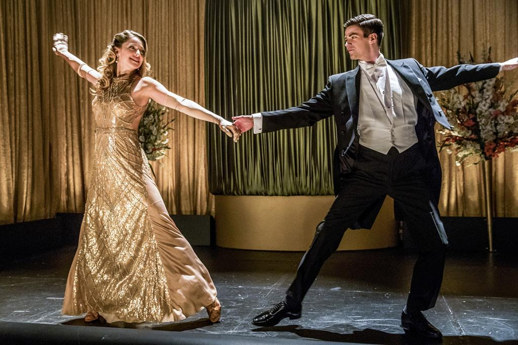 <p>Melissa Benoist as Kara and Grant Gustin as Barry Allen in The CW's The Flash.<br /><br />(Credit: Katie Yu/The CW) </p>