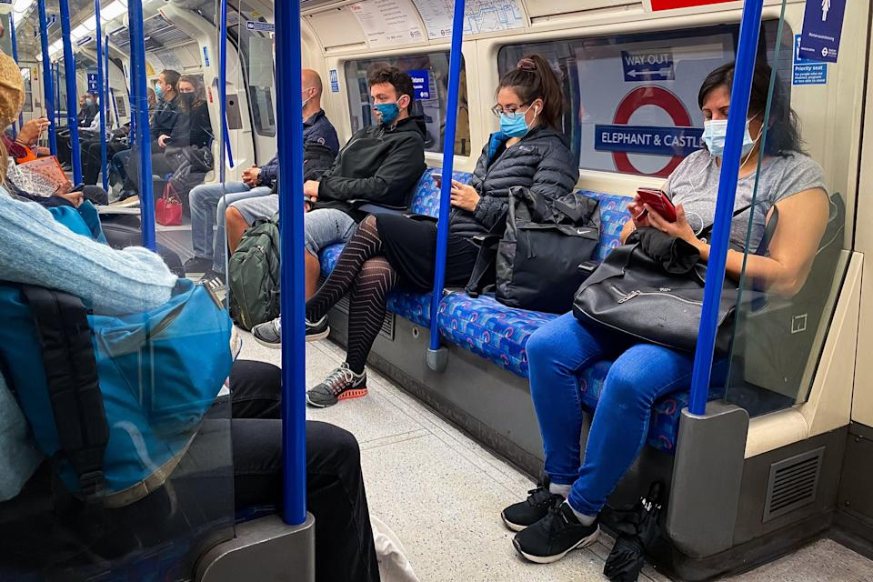 <p>The money is intended to replace the shortfall in TfL income caused by the drop in passenger numbers caused by the pandemic.</p> (PA)
