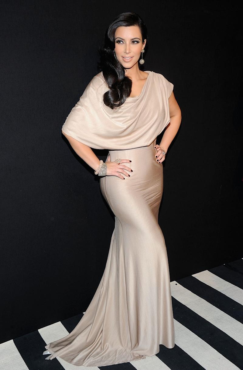 NEW YORK, NY - AUGUST 31: TV personality Kim Kardashian attends A Night of Style & Glamour to welcome newlyweds Kim Kardashian and Kris Humphries at Capitale on August 31, 2011 in New York City. (Photo by Jamie McCarthy/Getty Images)