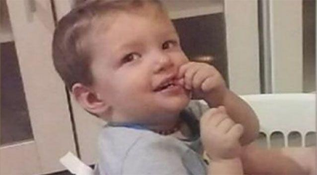 21-month-old Mason died in 'suspicious' circumstances. Photo: GoFundMe