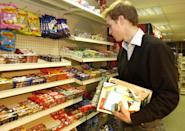 <p>Prince William had to shop like any other student, shown here browsing through the magazine rack in the Good News newsagents in St Andrews. (Anwar Hussein/allactiondigital.com)</p>