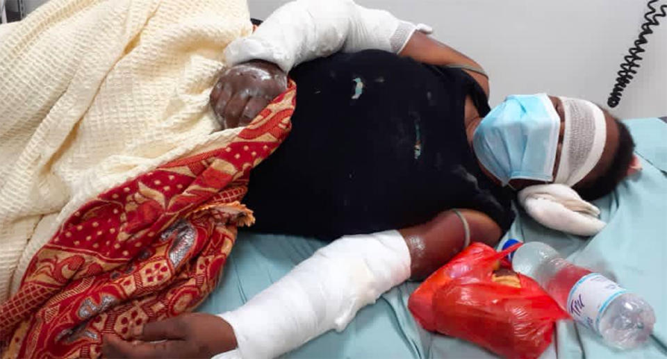 The women were reportedly rescued by police while being tortured. Source: The National/Goroka Hospital