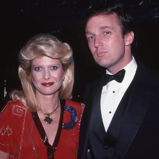 Trump and his first wife Ivana were married for 15 years. Photo: Getty
