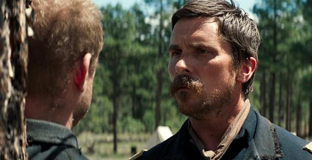 Christian Bale in <em>Hostiles</em>. (Entertainment Studios)