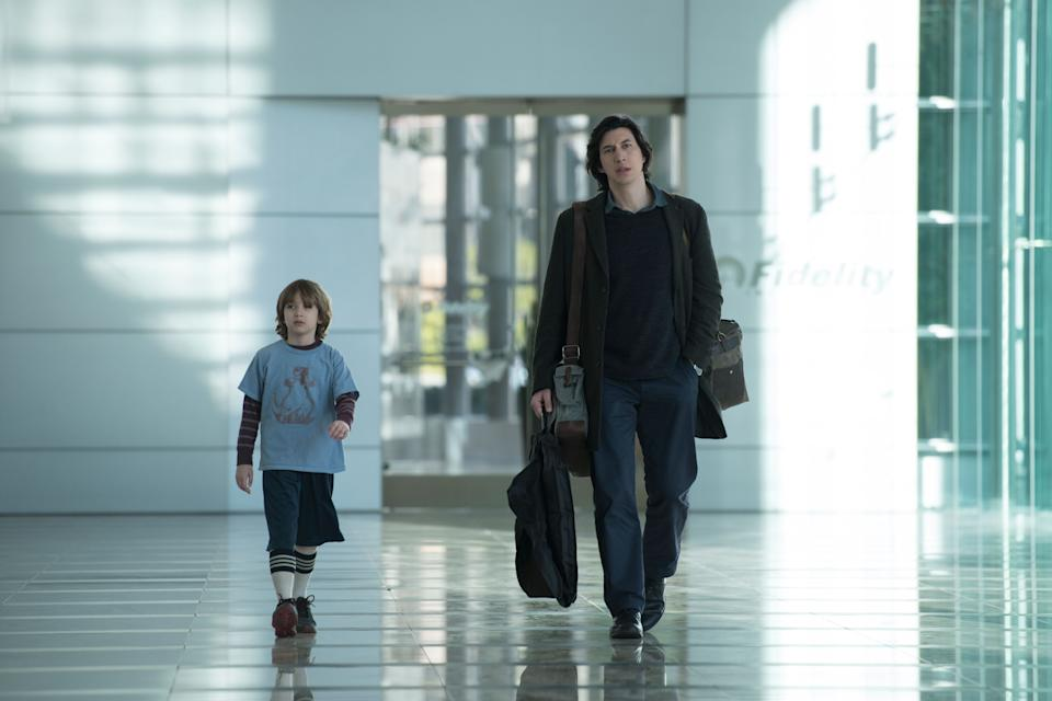 """Azhy Robertson and Adam Driver in """"Marriage Story"""" (Photo: Wilson Webb)"""