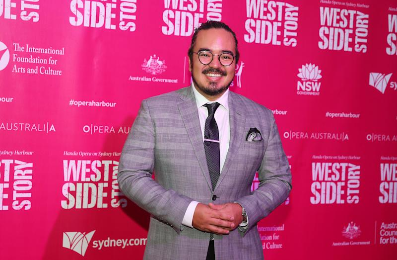 Adam Liaw attends opening night of West Side Story