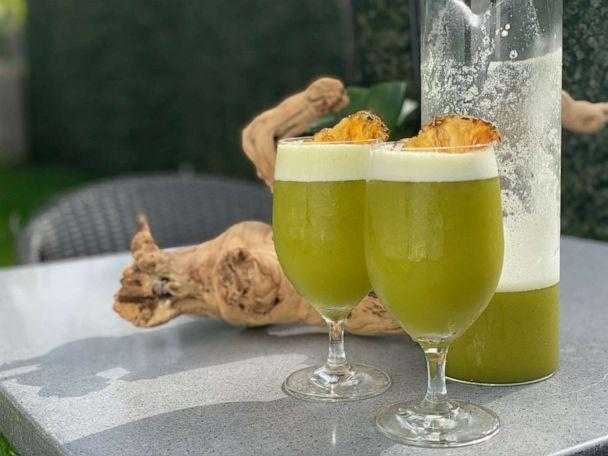 PHOTO: Pineapple Mint Frappe (Courtesy of Chef/Partner of CHICA, Lorena Garcia)