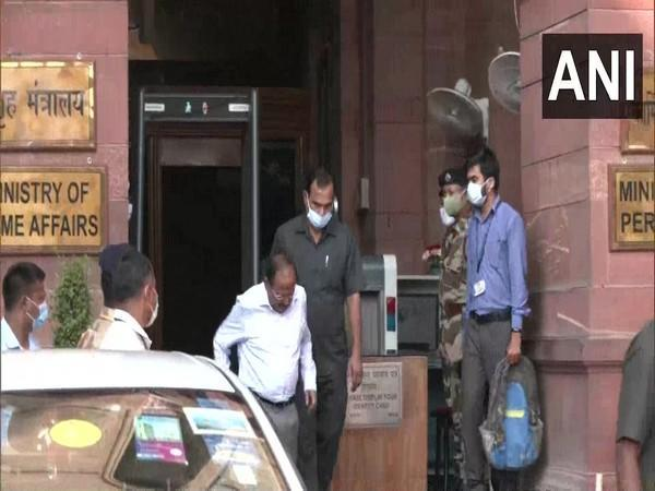 NSA Ajit Doval leaving after the meeting (Photo/ANI)