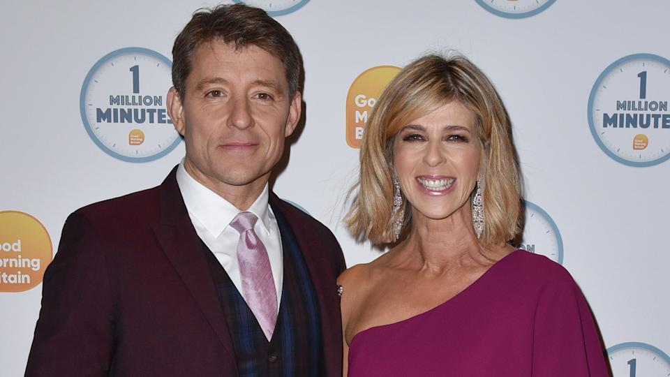 Ben Shephard and Kate Garraway attend the Good Morning Britain 1 Million Minutes Awards at Television Centre in London (James Warren / SOPA Images/Sipa USA)