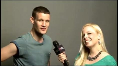 Matt Smith wants a part in Star Trek