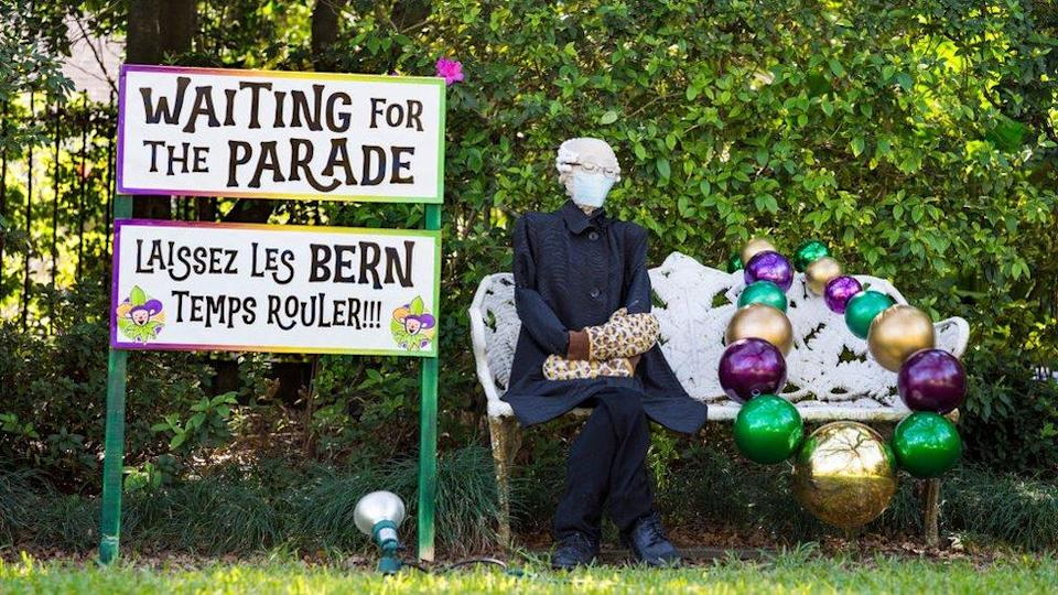 Covid Hit New Orleans Turns Homes Into Floats For Mardi Gras