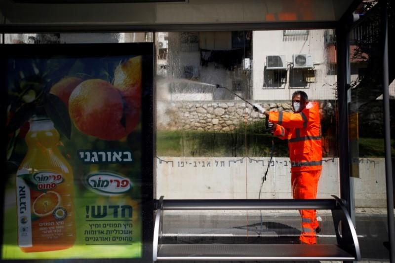 Israeli leaders open up nuclear bunker in war on coronavirus
