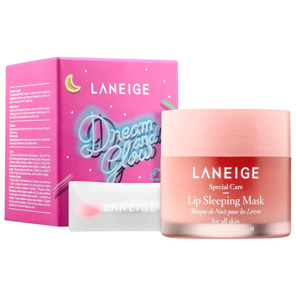<p>The <span>Laneige Lip Sleeping Mask</span> ($20) will give them their most hydrated lips ever. Seriously, they'll wake up and think they put on lip balm.</p>