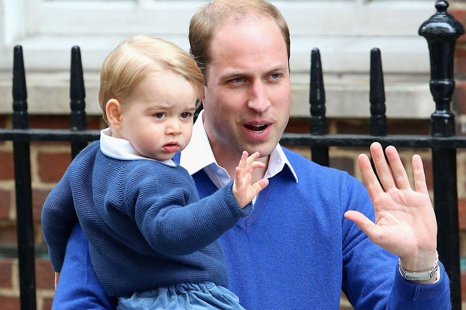 """<p>Prince George has <a href=""""http://www.cnn.com/2013/10/23/world/europe/prince-george-christening/index.html"""" rel=""""nofollow noopener"""" target=""""_blank"""" data-ylk=""""slk:seven"""" class=""""link rapid-noclick-resp"""">seven</a> and Princess Charlotte has <a href=""""https://www.theguardian.com/uk-news/2015/jul/05/princess-charlotte-gets-five-godparents-two-fewer-than-prince-george"""" rel=""""nofollow noopener"""" target=""""_blank"""" data-ylk=""""slk:five"""" class=""""link rapid-noclick-resp"""">five</a>. </p>"""