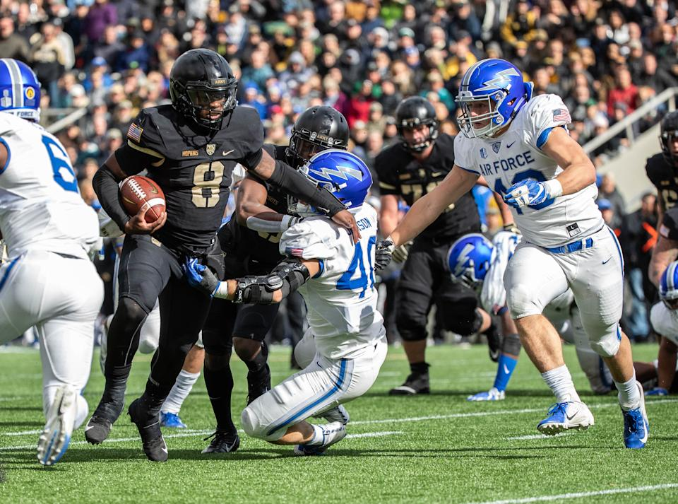 Air Force vs. Army is now the seventh Week 10 game postponed due to COVID-19. (Photo by Dustin Satloff/Getty Images)