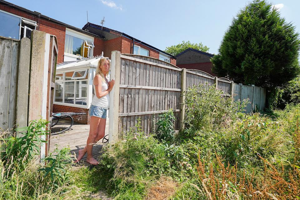 Joanne Gibson wants her local council to clear the 'rat-infested' land (reach)