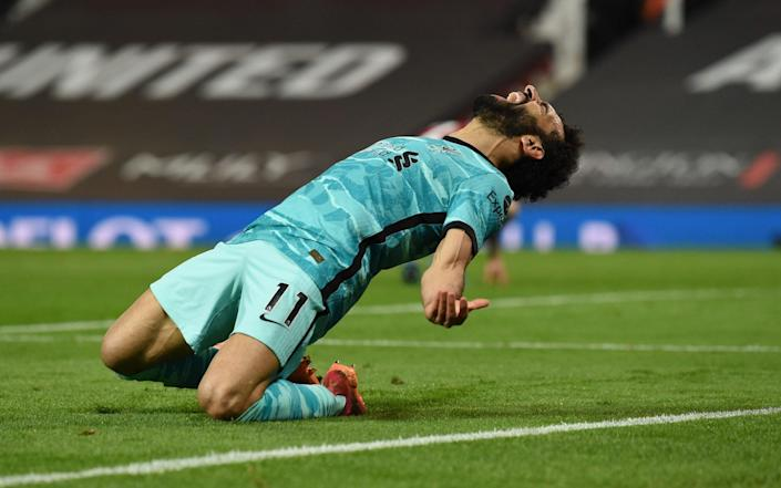 Liverpool keep Champions League push alive with high-scoring victory over ragged Man Utd - Getty Images