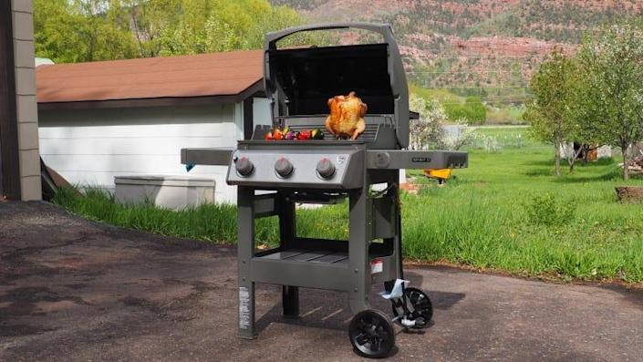 The Weber Spirit II E-310 is our pick for best gas grill.