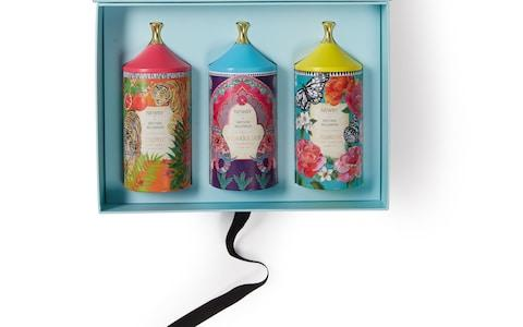 Newby London x Matthew Willamson tea caddie gift set