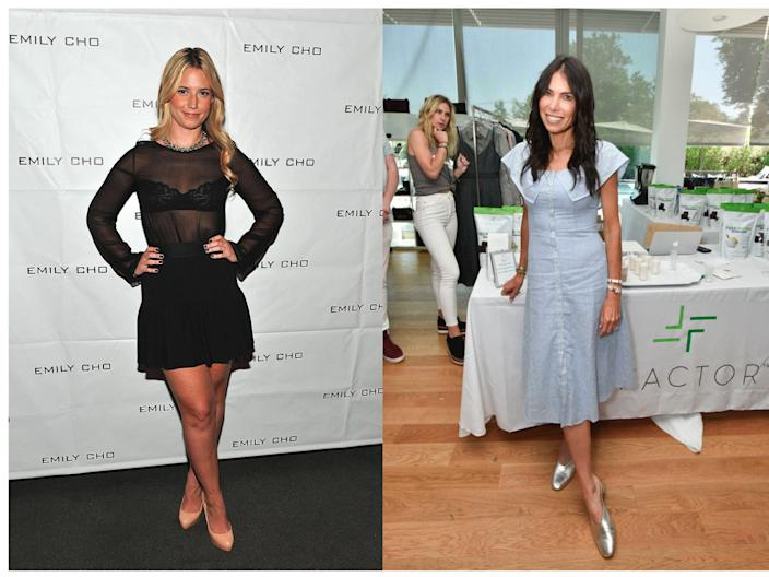 """Emily Gellis (left) and Tanya Zuckerbrot (right) have been the stars of the summer's F-Factor controversy. <p class=""""copyright"""">Fernando Leon/WireImage for Emily Cho; Eugene Gologursky/Getty Images for Hamptons Magazine</p>"""