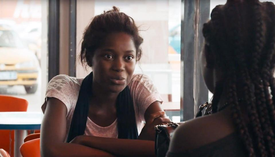 """<p>This French-language romance takes place in a suburb of Dakar, Senegal, where 17-year-old Ada falls in love with a young construction worker named Souleiman and mourns him when he and his disgruntled workers sail away - and it is only on her <a class=""""link rapid-noclick-resp"""" href=""""https://www.popsugar.com/Wedding"""" rel=""""nofollow noopener"""" target=""""_blank"""" data-ylk=""""slk:wedding"""">wedding</a> day to another man that Ada learns her lover has returned. It's beautiful and heart-wrenching, and you would never know that this was Senegalese writer-director Mati Diop's debut film. </p> <p><a href=""""http://www.netflix.com/title/81082007"""" class=""""link rapid-noclick-resp"""" rel=""""nofollow noopener"""" target=""""_blank"""" data-ylk=""""slk:Watch Atlantics on Netflix"""">Watch <strong>Atlantics </strong>on Netflix</a>.</p>"""