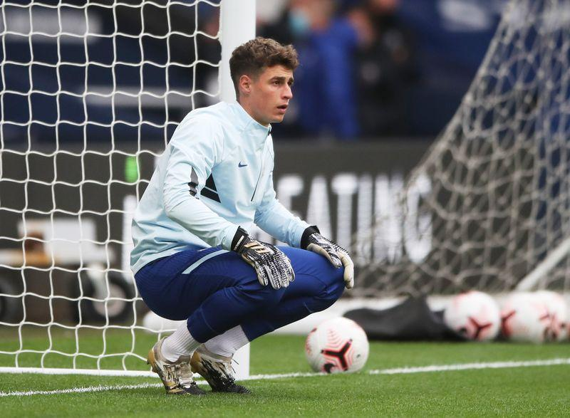 Lampard jumps to Kepa defence, says goalkeeper not leaving Chelsea