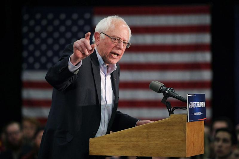 Bernie Sanders was the front-runner in the race earlier this year (Getty Images)