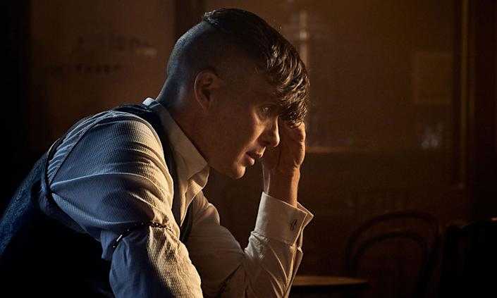 Cillian Murphy is nominated for his role as Tommy Shelby in Peaky Blinders. (BBC/Caryn Mandabach Productions Ltd 2019/Robert Viglasky)
